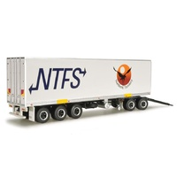 HIGHWAY REPLICAS NTFS 1/64 FREIGHT TRAILER AND DOLLY