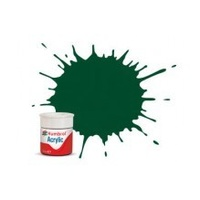 HUMBROL ACRYIC TINLET GWR/BR GREEN
