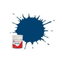 HUMBROL ACRYLIC TINLET DIESEL BLUE 63-411A