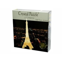 3D EIFFEL TOWER CRYSTAL PUZZLE VEN911074