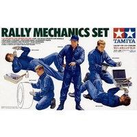 TAMIYA 1/24 RALLY MECHANICS SET T24266
