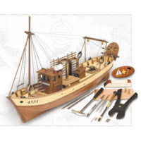 Artesania 1/35 Mare Nostrum w/ #27003 Tools & Plankbender Wooden Ship Model ART-20100PD