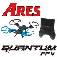 (MODE 2) ARES QUANTUM FPV QUAD WITH SCREEN ON TX  M2