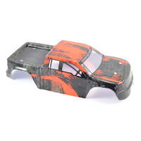 PAINTED TRUCK BODY ORANGE FTX-7228