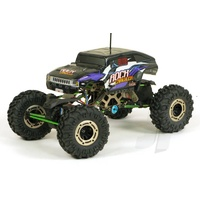 (5628) 1/10 SCALE ELECTRIC ROCK CRAWLER WITH 4 WHEEL STEER