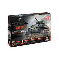 ITALERI 1/35 WORLD OF TANKS M4 SHERMAN ITA-36503