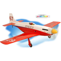 PHOENIX STREGA P-51 FOR EP OR .46 - .55 ENGINES PH121