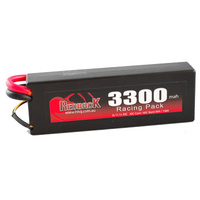 BATT 7.4 LIPO 3300MAH CAR HARD CASE