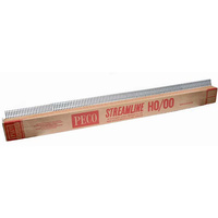 PECO WOOD SLEEPER NS RAIL HO-00 91.5cm SL100