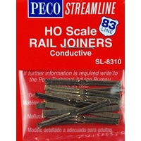 HO SCALE RAIL JOINERS CONDUCTIVE SL8310