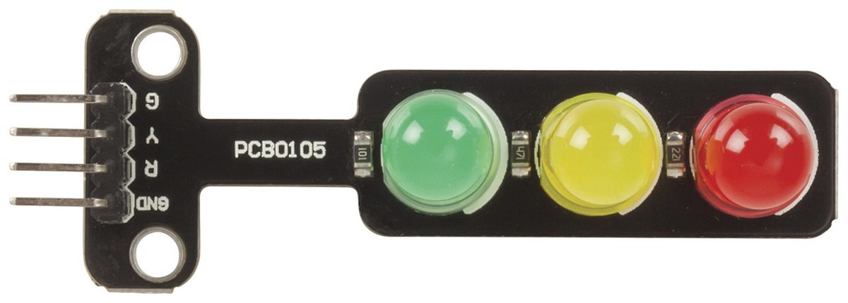LED Traffic Light Module for Arduino XC3720RED, YELLOW, GREEN  Stop