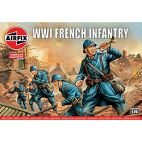 AIRFIX WWI FRENCH INFANTRY 1:76 SCALE