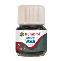 HUMBROL DARK GREY WASH 28ML 0204