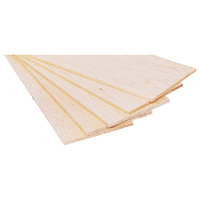 1.0MM 80X1000MM PREMIUM GRADE BALSA SHEET