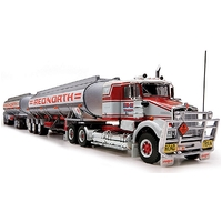 HIGHWAY REPLICAS 1:64 TANKER ROAD TRAIN - RED NORTH