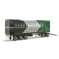 HIGHWAY REPLICAS 1:64 LIVESTOCK TRAILER 12993