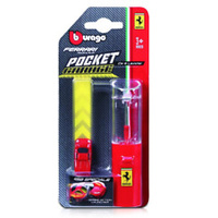 BB FERRARI RACE & PLY POCKET GARAGE W/LAUNCHER  56300