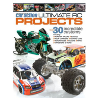 BOOK, RC CAR ACTION ULTIMATE RC PROJECTS