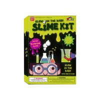 GLOW IN DARK SLIME MALING KIT AAC049500