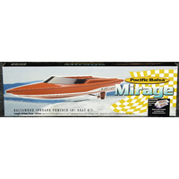AEROFLIGHT MODELS MIRAGE BOAT KIT 360MM AFMAMIRAGE