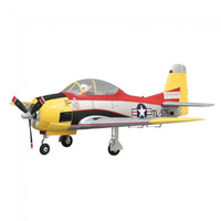 Arrow hobby T-28 TROJAN PNP with Retracts