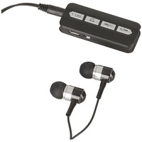 Rechargeable Bluetooth Audio Receiver with Earphones