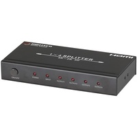 4 Port HDMI Splitter with UHD 4K  Support