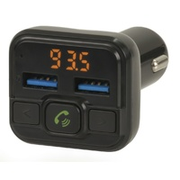FM Transmitter with Bluetooth® Technology