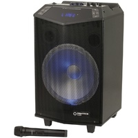 "12"" Rechargeable PA Speaker with Wireless Microphone"
