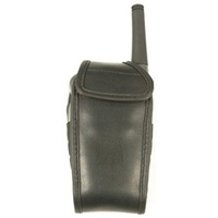 Black Leatherette Pouch for 0.5W UHF Transceivers