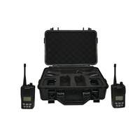 5W UHF CB Radio Tradies Pack IP67 DC1069Ultra high powered UHF transmission from a compact handheld unit. • 1W/5W power selection • CTCSS • VOX • larg