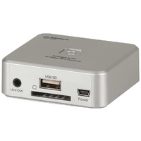 Analogue Audio to Digital MP3 Converter   GE4103Simply install your SD card or USB flash drive, and you're ready to go!
