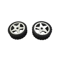 Pack of 2 Front Tyres for GT3786 Buggy
