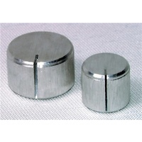 16mm Brushed Aluminium Knob