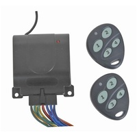 4-Channel Wireless Remote Control Relay with 2 Key Fobs