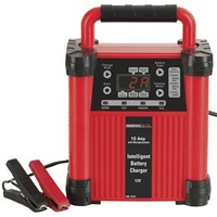 12V 10A Intelligent Switchmode 5 Stage Battery Charger