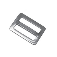 Webbing Buckle - Fixed Bar - 25mm Stainless Steel