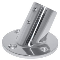 "Guardrail Fittings - 60° Base - 70mm dia - 22mm (7/8"")"