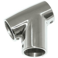 "Guardrail Fittings - 60° Tee - 22mm (7/8"")"
