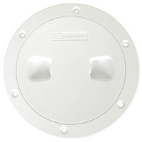 "Deck Plate / Inspection Covers - 100mm 4"" White"
