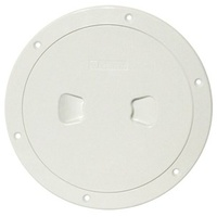 "Deck Plate / Inspection Covers - 125mm 5"" White"