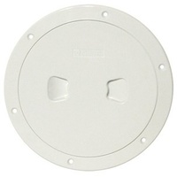 "Deck Plate / Inspection Covers - 150mm 6"" White"