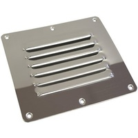 Louver Vents - Stainless Steel - 127mm x 115mm