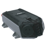 ENERGIZER 500W (1000W Surge) 12VDC to 230VAC Modified Sine Wave Inverter MI5021Plugs into your car's 12V cigarette lighter socket or directly to your