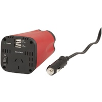 150W Cup-Holder Inverter with Dual USB Charging