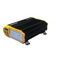 1100W (2200W) 12VDC to 230VAC Modified Sinewave Inverter with 2X2.1USB and LCD Display