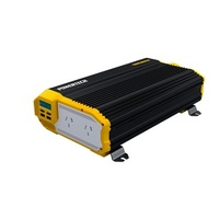 1500W (3000W) 12VDC to 230VAC Modified Sinewave Inverter with 2X2.1USB and LCD Display