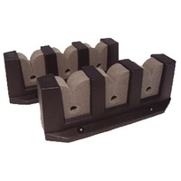 Storage Rod Holders - 3 Rod Storage