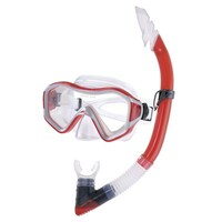 Red Mask And Snorkel Set Adult