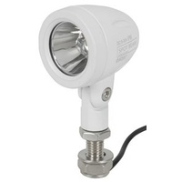 498 Lumen Solid LED Mini Spotlight White - Each
